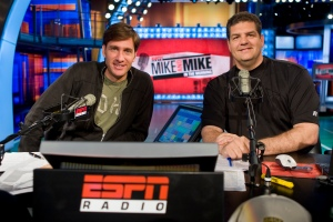 """Mike & Mike"" hosts Mike Greenberg and Mike Golic"