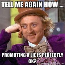 Willy Wonka lie